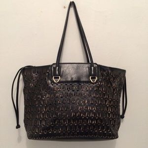 Sam Edelman Perforated Tote and Liner